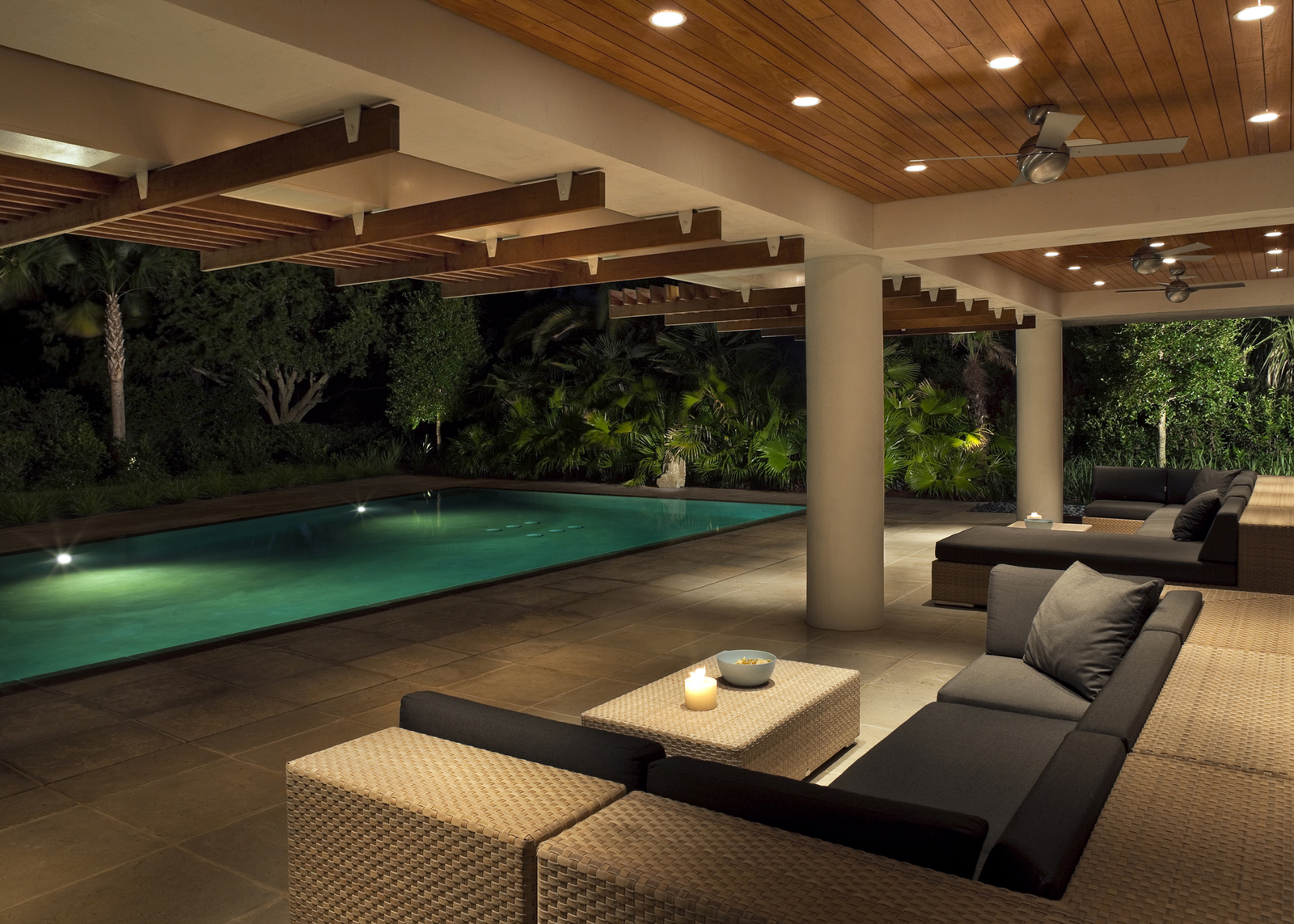 Beautiful Pool Pavilions Designs Contemporary - Decoration Design ...